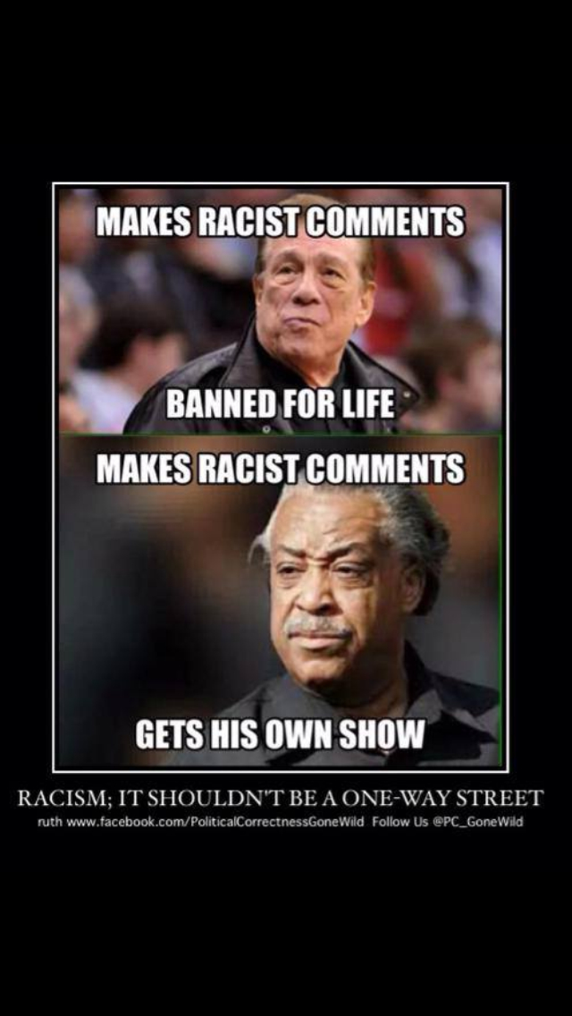 Liberal Race Baiters and their DOUBLE