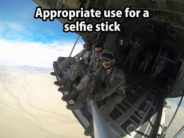 """Appropriate use for a selfie stick #aviationquoteshumor explore Pinterest""""> #aviationquoteshumor #aviationhumorpictures explore Pinterest""""> #aviationhumorpictures"""