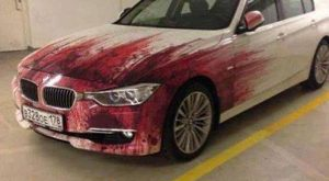Killer paint job