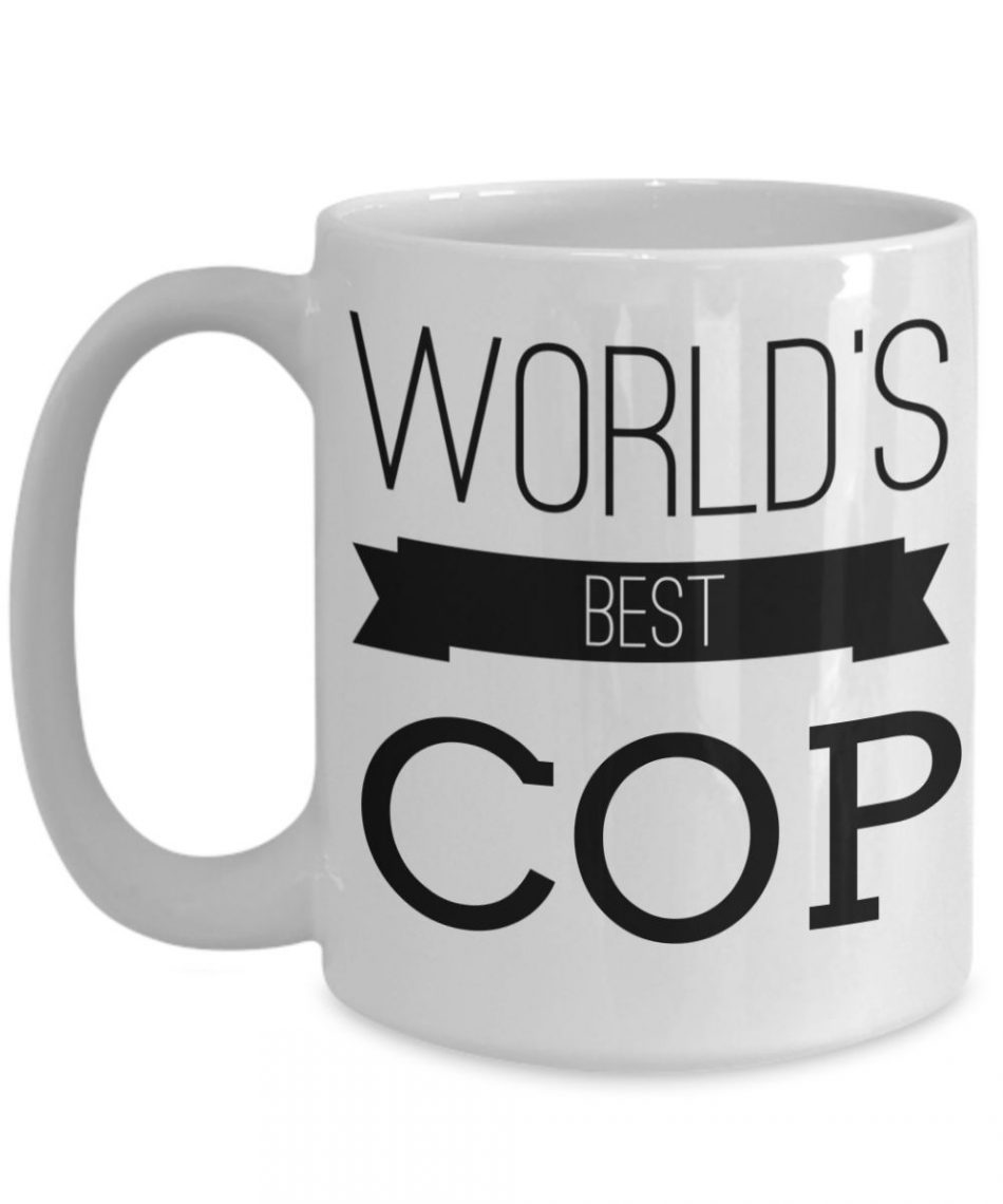 Funny Police Officer Gifts – Police Academy Graduation Gifts – Retired Police ...