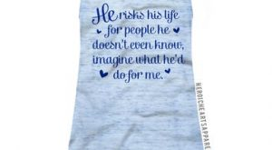 He Risks His Life Shirt – LEO
