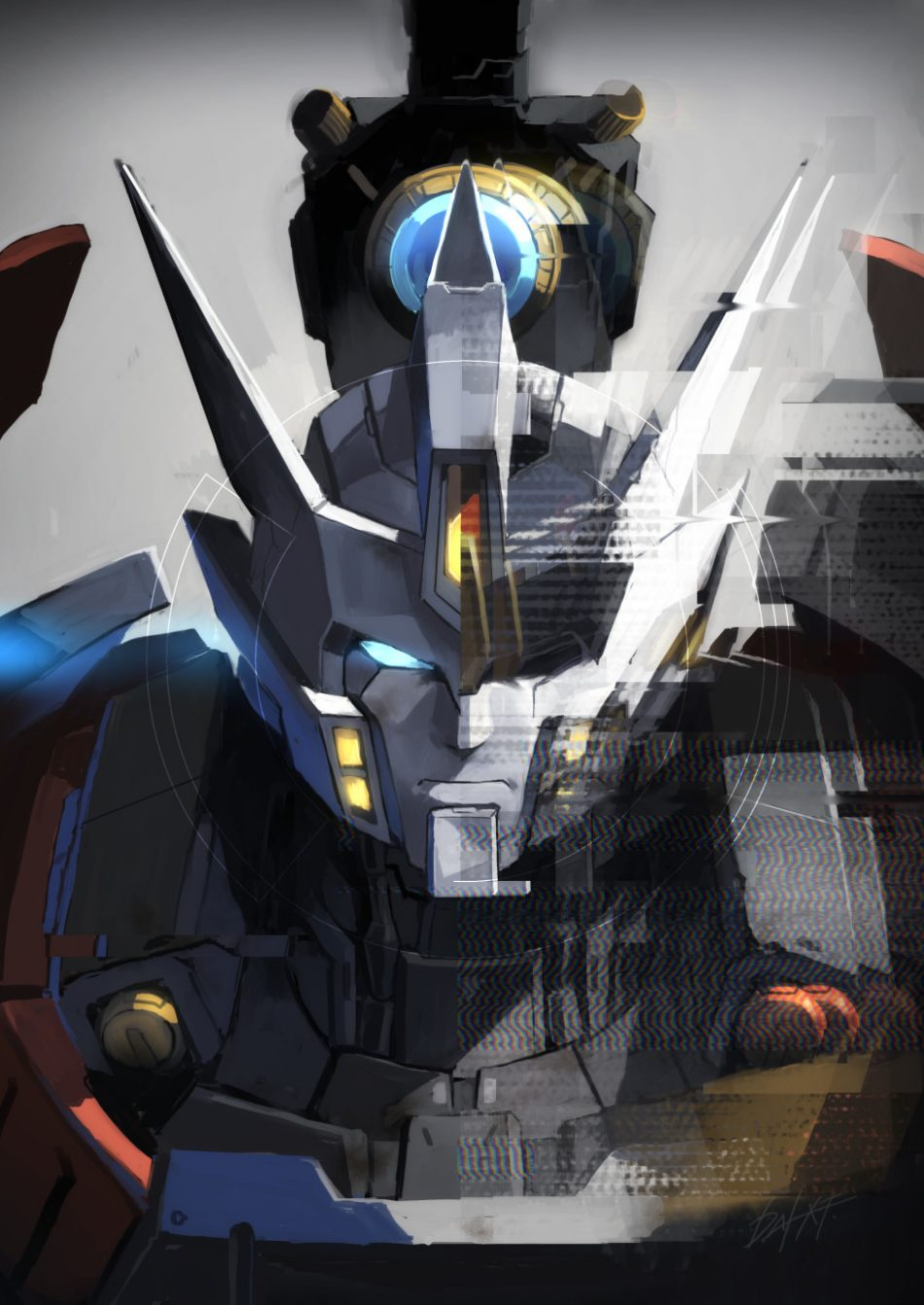 """dai-xt: """" """"CHANGE MYSELF"""" I drew the cover for the Transformers fan event TRANSFUNKE..."""