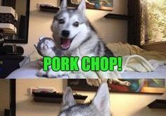 Karate Pig | WHAT DO YOU CALL A PIG THAT DOES KARATE? PORK CHOP!…