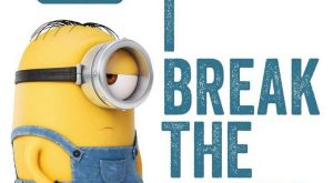Funny Minions pictures gallery (01:55:07 PM, Tuesday 23, June 2015 PDT) – 10 pics…