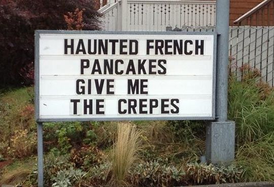 Haunted French Pancakes
