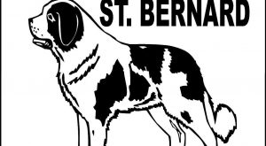 "SAINT BERNARD ALUMINUM DOG SIGN GLSTB #bestdogbreeds explore Pinterest""> #bestdog..."