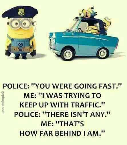Funny Minions vs. Police Officer