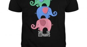 "Save The Elephants, Cute #Elephant explore Pinterest""> #Elephant, Wild Animal T-s..."
