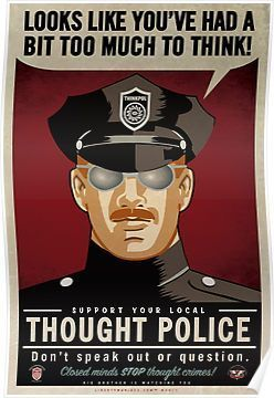 Thought Police Posters