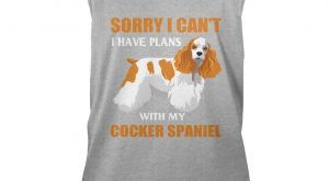 "Funny Cocker Spaniel Dog Shirt. Gift For Grandparents. #gift explore Pinterest""> ..."