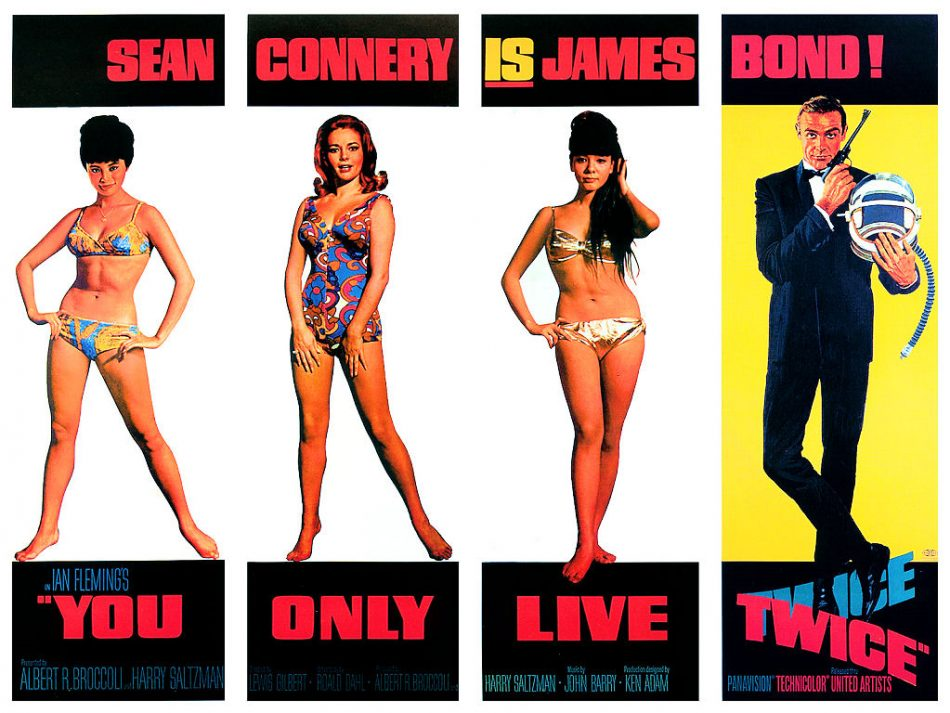 You Only Live Twice is the soundtrack for the fifth James Bond film of…
