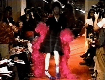 GIFs of models falling on the runway. These supermodel runway fails found on the…