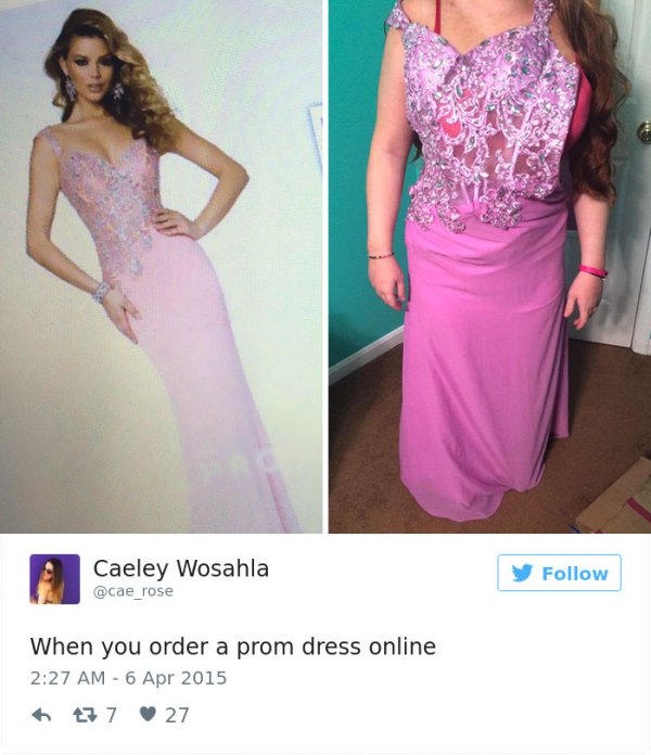 Teens Are Sharing Prom Dresses They Regret Buying Online And It's Hilarious #Prom explor...