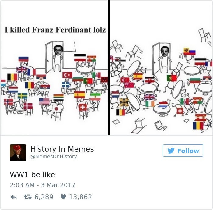 10+ Hilarious History Memes That Should Be Shown In History Classes