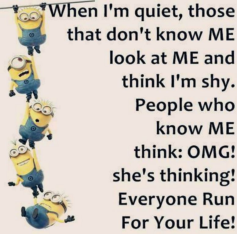Funny Minion quotes gallery of the hour (08:26:00 AM, Thursday 25, February 2016 PST)…