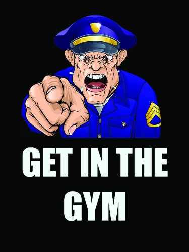 Police Poster Police Workout Police Fitness Police Training 18×24 (IYFV1)