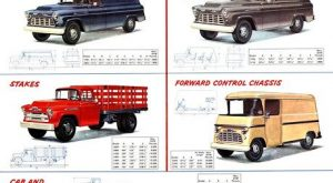 New 1956 Chevrolet Task Force Trucks Lineup