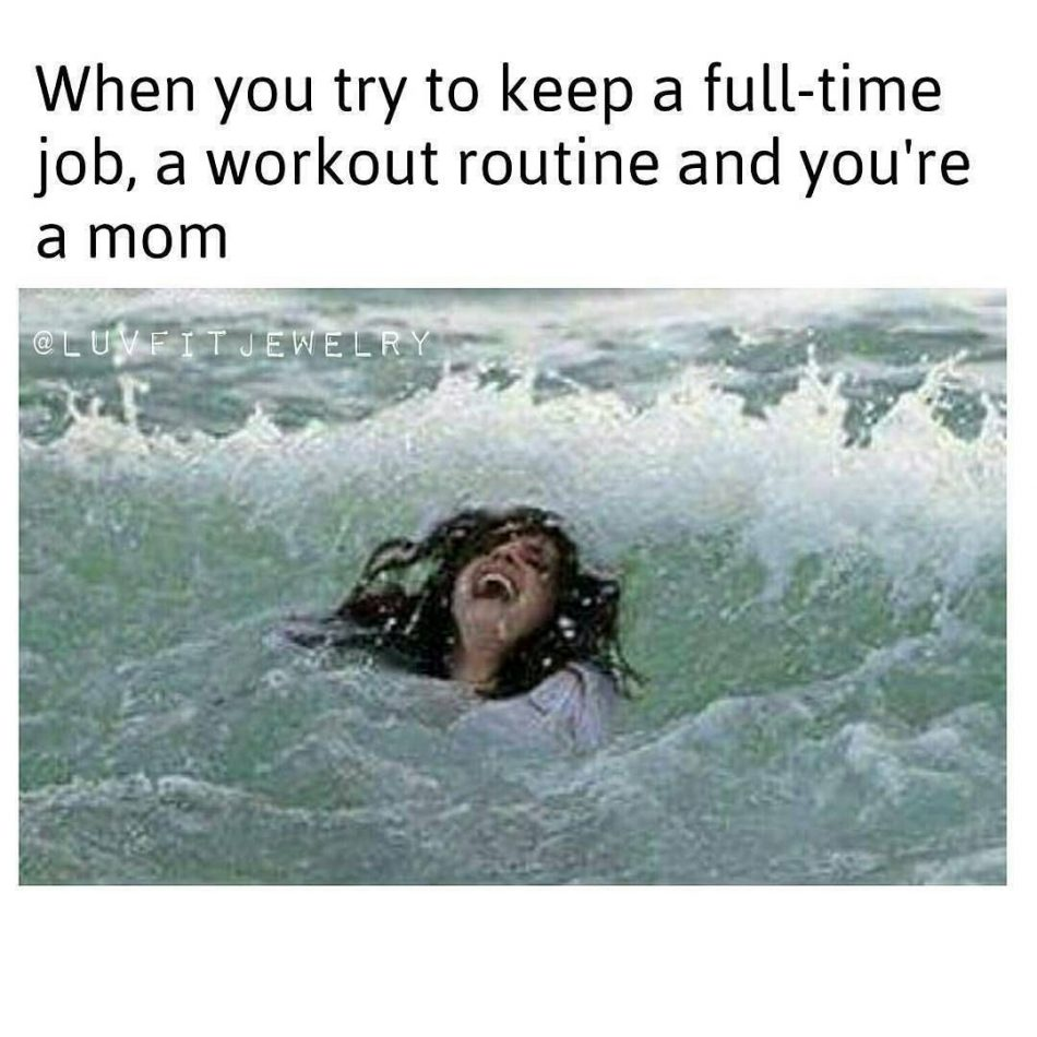 When you try to keep a full-time job, a workout routine and you're a…