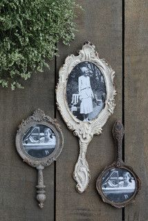 Hand Mirror Photo Frames – farmhouse – frames – other metro – by A...