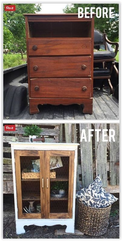 Cute dresser, nicer if the white paint is replaced with a light color