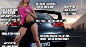 2/10 WOULD NOT BANG – Sexy Girls with Cars Meme's – Page 5 -…
