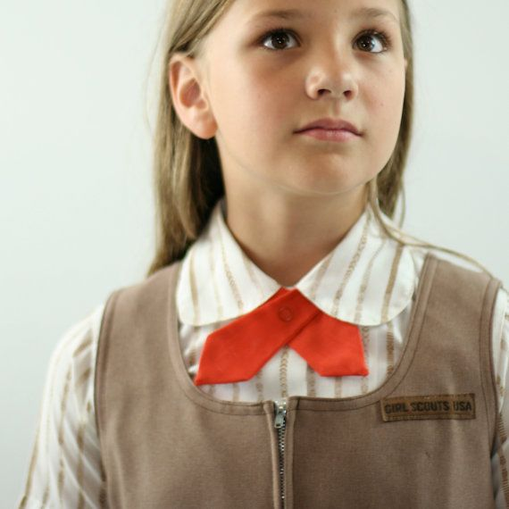 Vintage Girl Scout Brownie Uniform 1970s