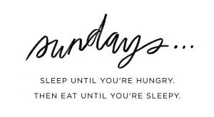 Sundays More