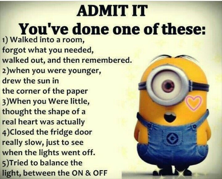 I have done all if them lol – funny minion memes, Funny Minion Quote,…