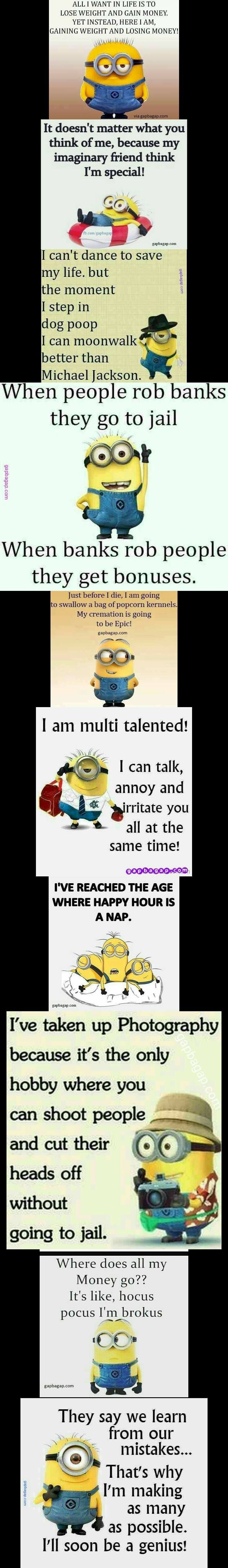 """Top 10 Funniest Memes By The #Minions explore Pinterest""""> #Minions – funny min..."""