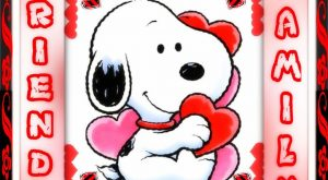 It's Saturday! Hope yours is awesome! Friends and Family snoopy weekend valentine&#8...