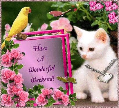 Have a wonderful weekend! weekend friday sunday saturday weekend greetings animated weeken...