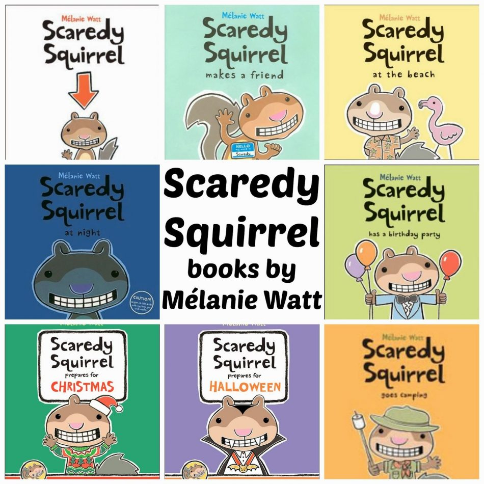 Image result for scaredy squirrel quotes