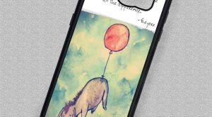 Little Donkey Quote Cartoon Quote Eeyore – Samsung Galaxy S7 S6 S5 Note 5…