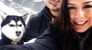 funny caption husky dog giving girlfriend dirty look you can never love him like…