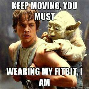 Fitbit funny!