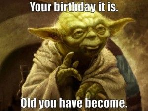 Birthday Quote Yoda Images