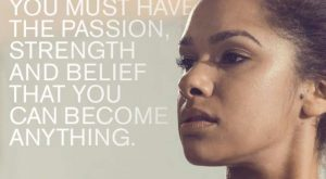 If you want it, go after it. Misty Copeland from Under Armor. Meet Misty…