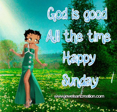 Betty Boop animation, Sunday Animation, Glitter graphics, Happy Sunday, Sunday greetings