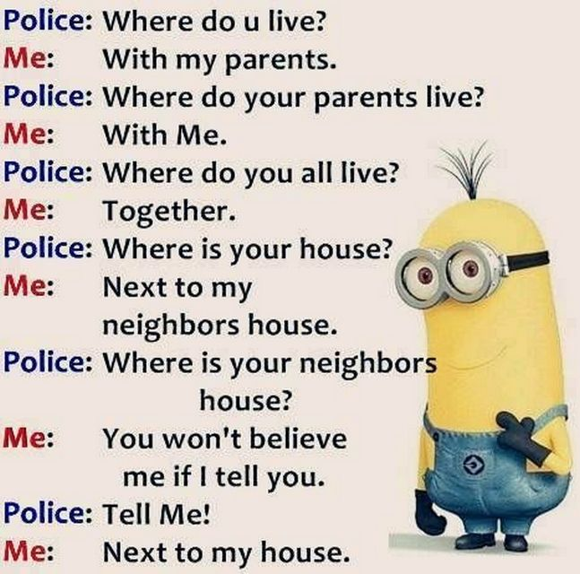 Today Top Funny Minions quotes (07:27:52 PM, Friday 02, December 2016 PST) – 28…