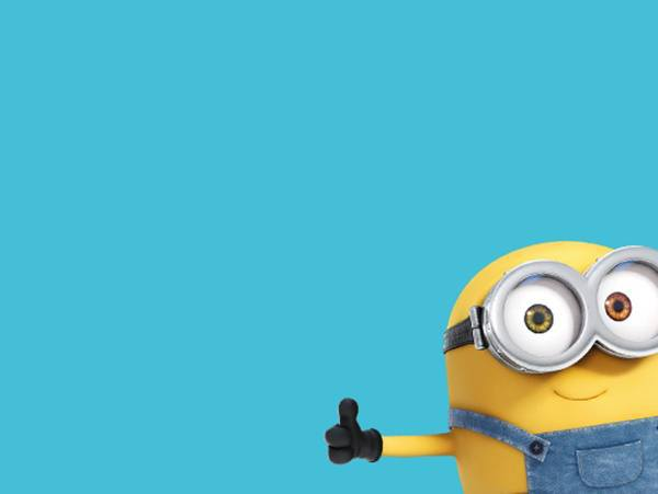 Thumbs up minion