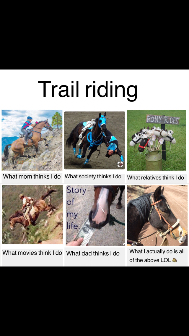 Trail riding