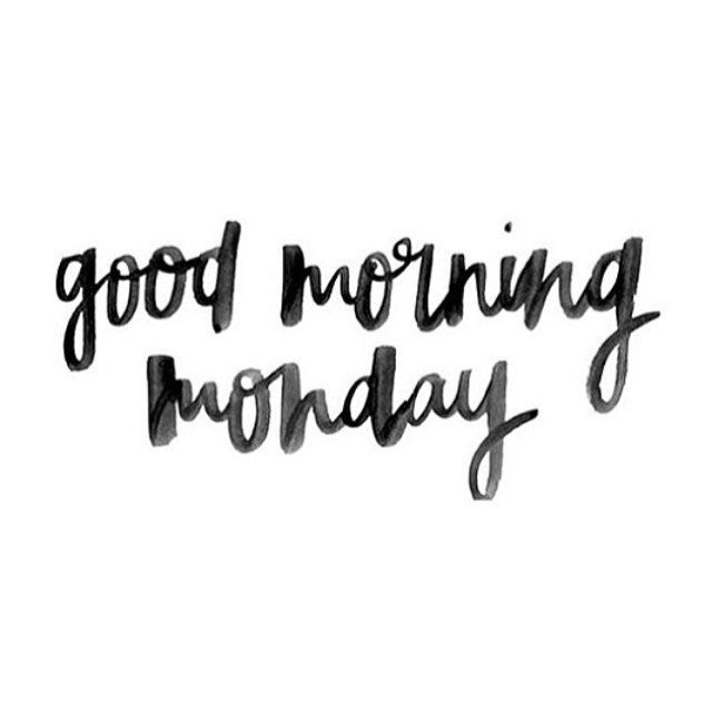 Greet your Monday morning with a smile, its full of possibilities for improvements