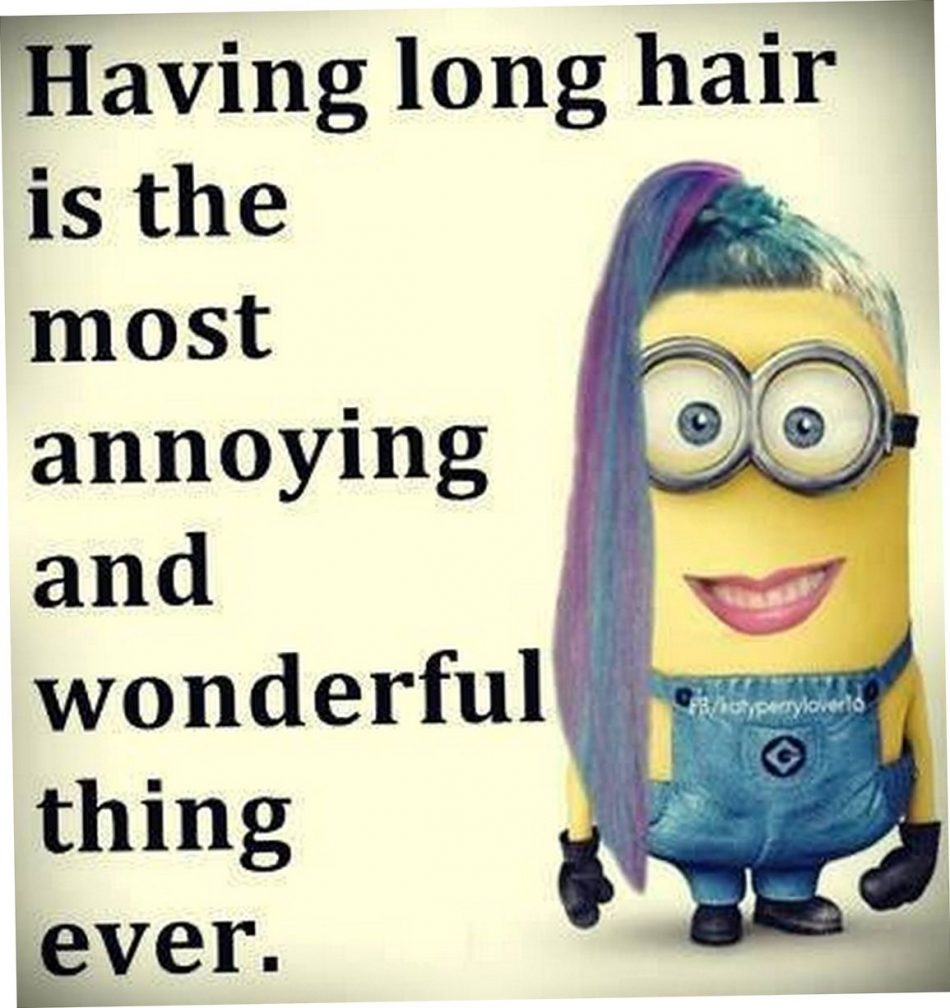 Having long hair is the most annoying & wonderful thing ever!!!!