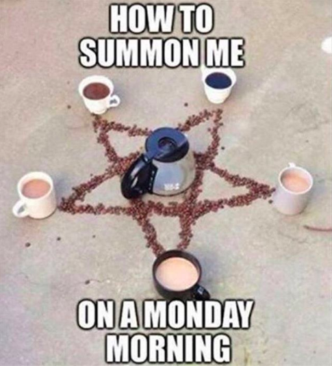 This magical witchcraft: | 17 Coffee Memes That Will Make Coffee Lovers Laugh