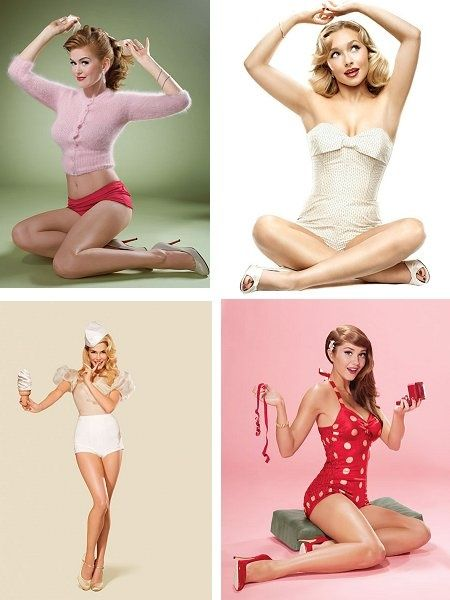 pinup; because curves are beautiful