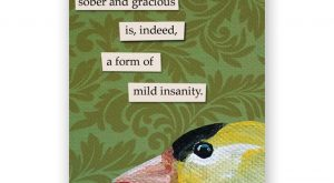 Sober Magnet – Bird – Humor – Gift – Stocking Stuffer – Anim...