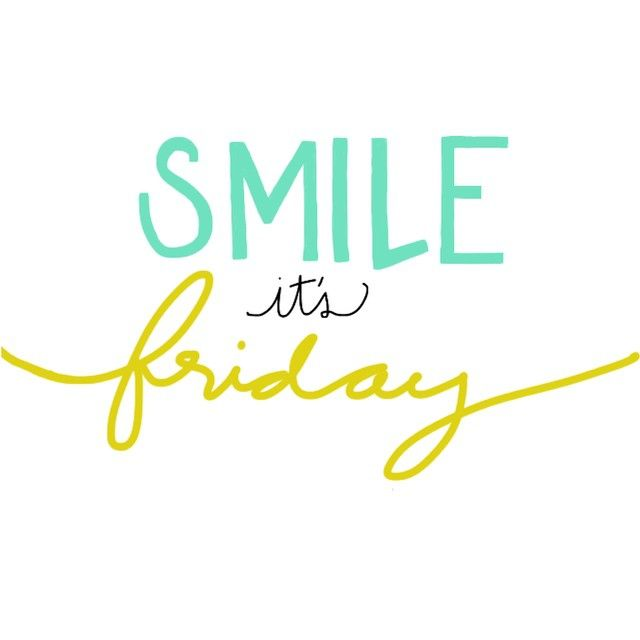 Happy Friday! Any weekend plans you are excited about?