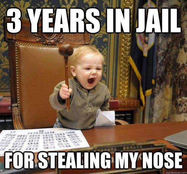 "3 Years in Jail – See more at #funnypictures search Pinterest""> #funnypictu..."