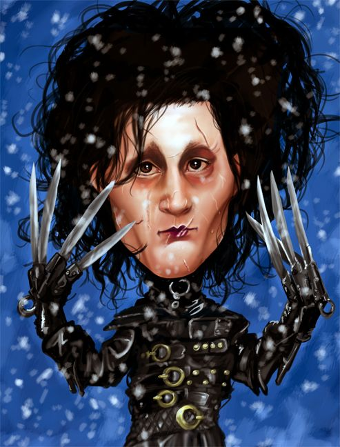 Edward Scissorhands by on deviantART