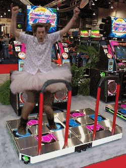 Ace Ventura dancing champion